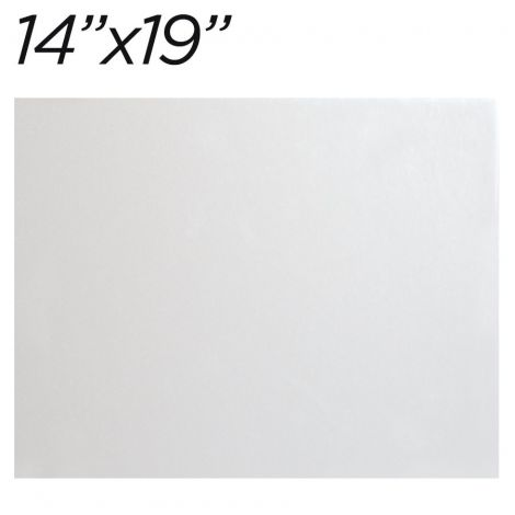 """14""""x19"""" White Cakeboard, 12 ct. - 3 mm thick"""