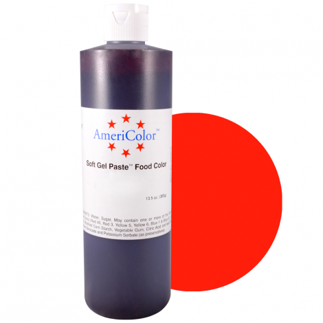 Americolor 13.5oz Red Red