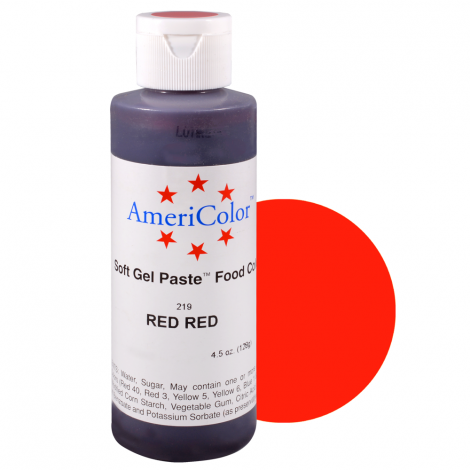 Americolor 4.5 oz Red Red