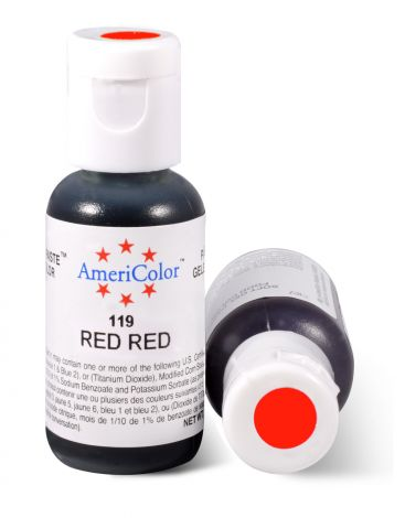 Americolor Red Red 3/4 oz