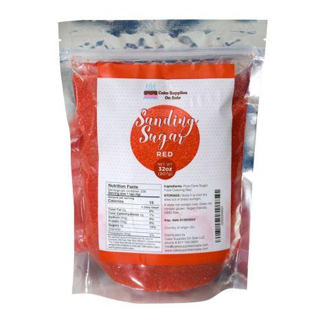 Sanding Sugar Red, 32 oz