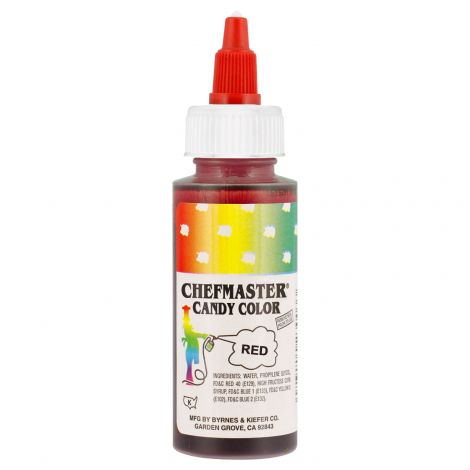 Liquid Candy Color Red - 2 oz.