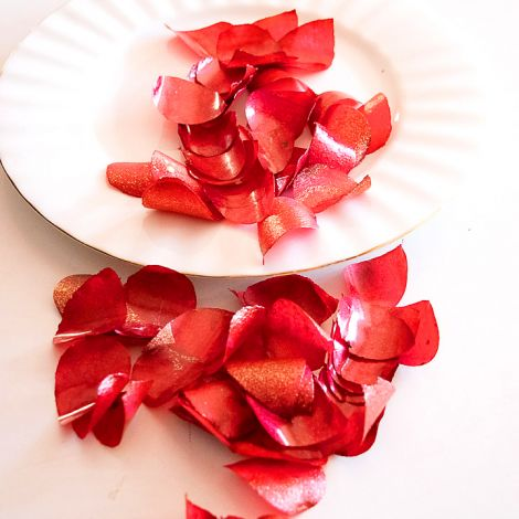 Edible Rose Petals - Red and Gold