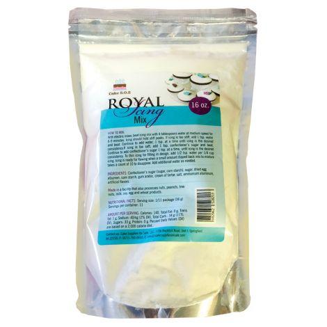 Royal Icing Mix White, 1 pound Bag