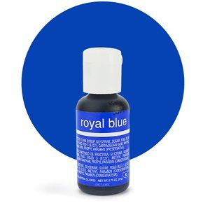 Liqua-Gel Food Color Royal Blue .70 oz