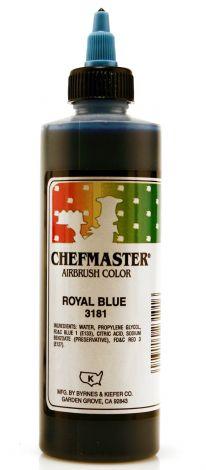Airbrush Food Color Royal Blue - 9 oz