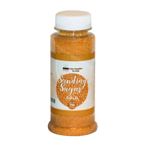 Sanding Sugar Gold 7 oz