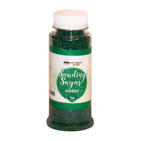 Sanding Sugar Green 7 oz