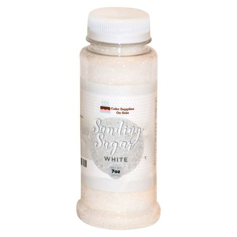 Sanding Sugar White 7 oz