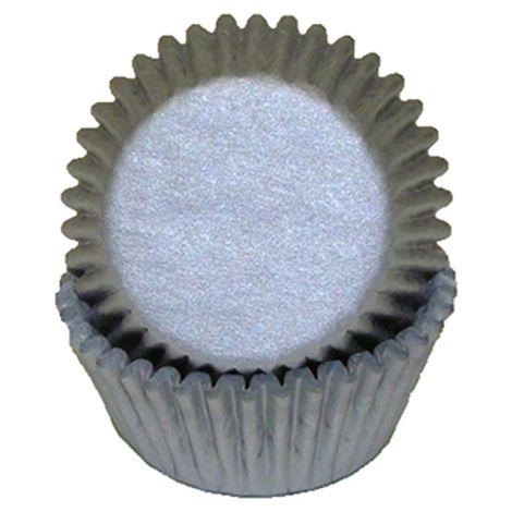 Silver Mini Baking Cups, 500 ct.