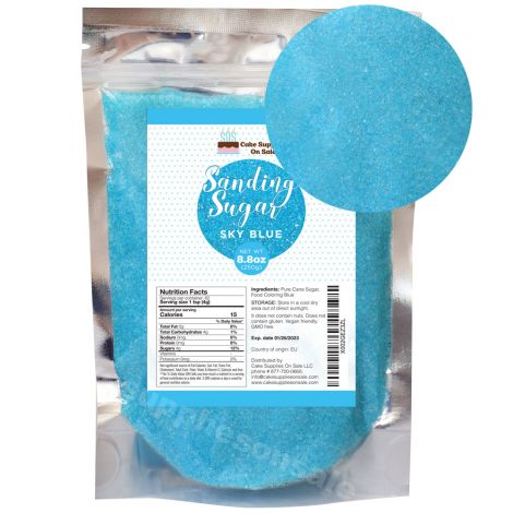 Sanding Sugar Sky Blue 8.8 oz