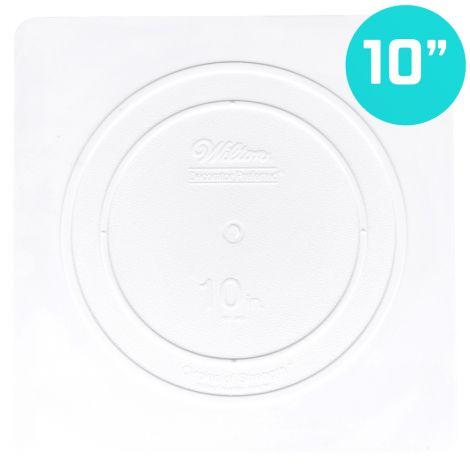 "10"" Smooth Edge Square Separator Plate"