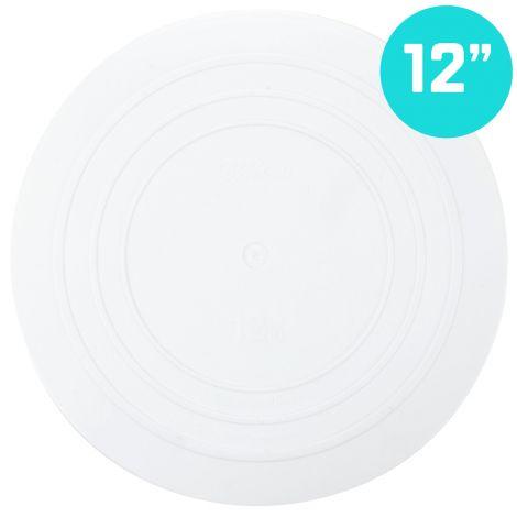 "12"" Smooth Edge Round Separator Plate"