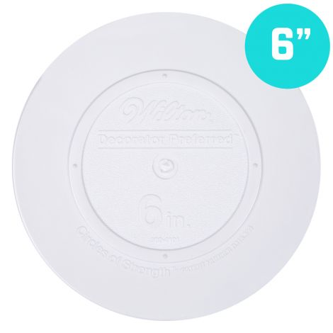 "6"" Smooth Edge Round Separator Plate"