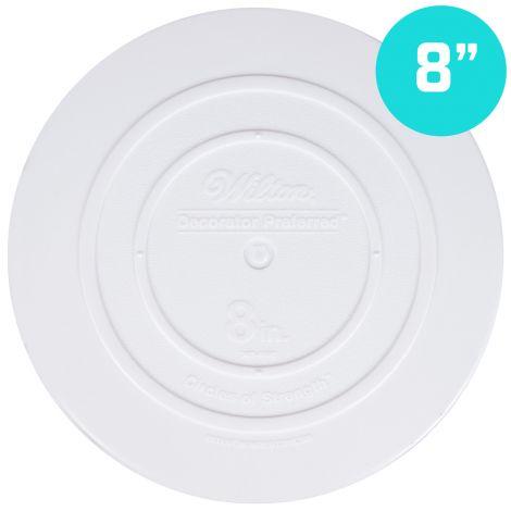 "8"" Smooth Edge Round Separator Plate"