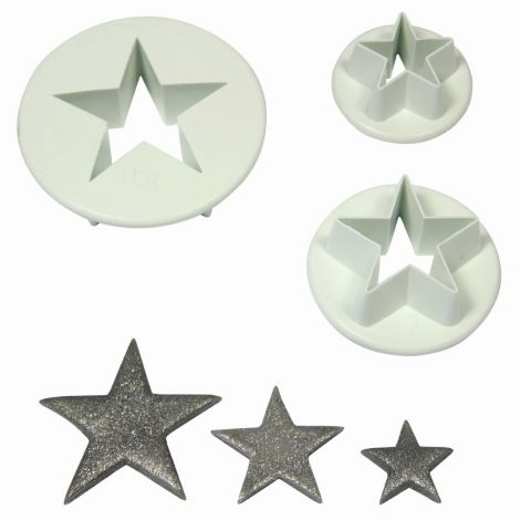 Star Cutter Set 3