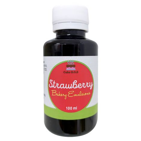 Strawberry Emulsion, 100 ml