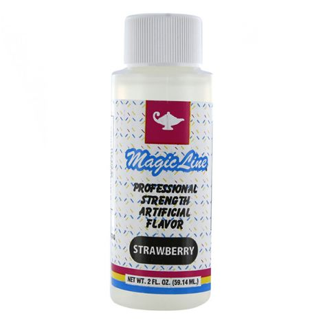 Magic Line Strawberry Flavor 2 oz.