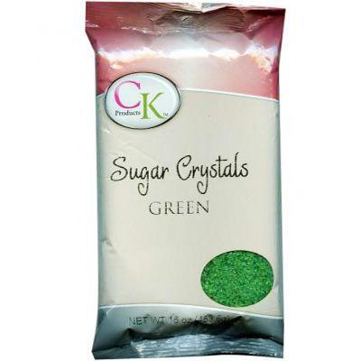 16 OZ Sugar Crystals - Green