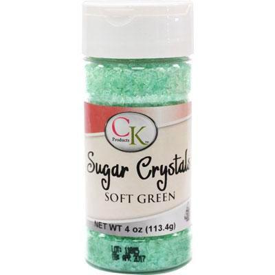 4 oz Sugar Crystals - Soft Green