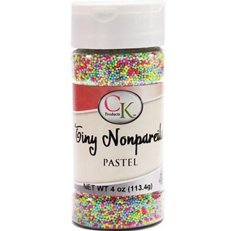 Tiny Pastel Mix Non-Pareils 4 oz.