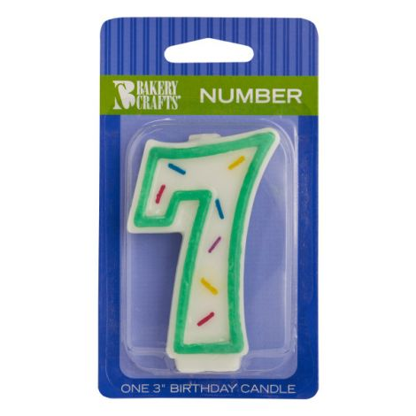 Sprinkle Candles Number 7