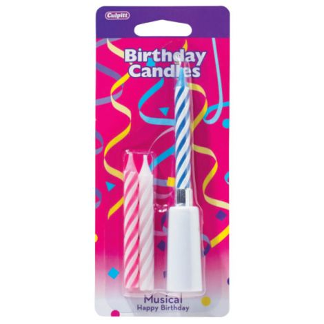 Happy Birthday Assortment Musical Candles
