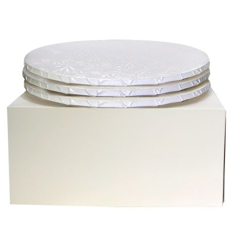 """12"""" Combo Pack With 1/2"""" Round White Drum, 3 ct."""