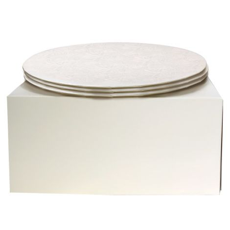 """10"""" Combo Pack With 1/4"""" Round White Drum, 3 ct."""
