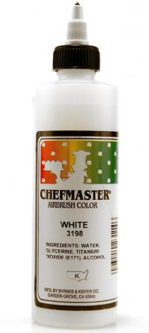 Airbrush Food Color White - 9 oz