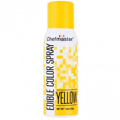 Edible Yellow Spray - 1.5 oz.