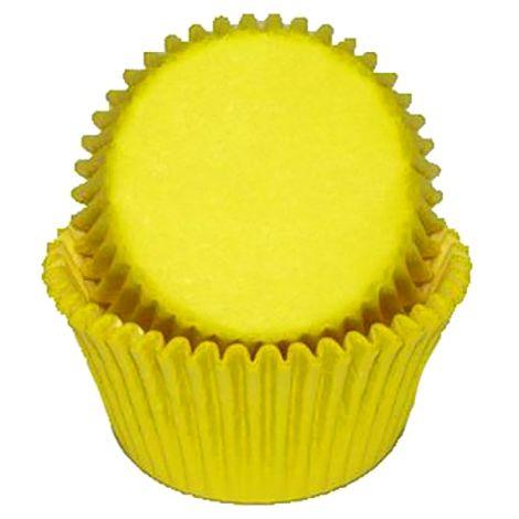 Yellow Mini Baking Cups, 500 ct.