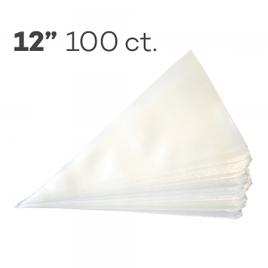 """Piping Bags 12"""", Pack of 100"""