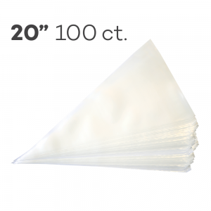"""Piping Bags 20"""", Pack of 100"""