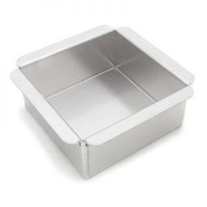 "6"" Square Cake Pan 3"" Deep"