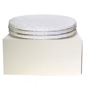 "12"" Combo Pack With 1/2"" Round White Drum, 3 ct."